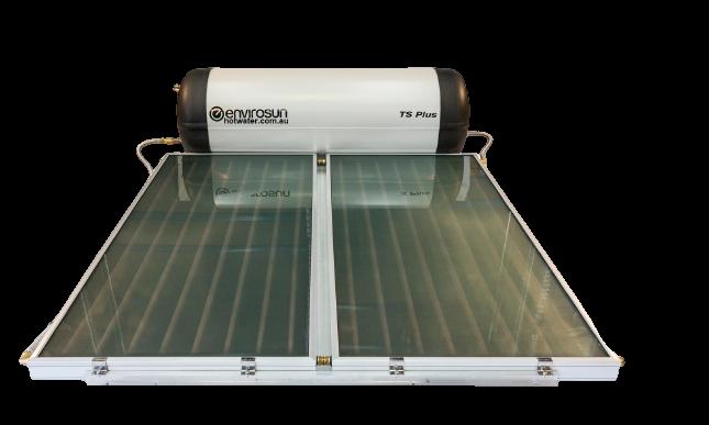 Envirosun TS Plus solar hot water heaters