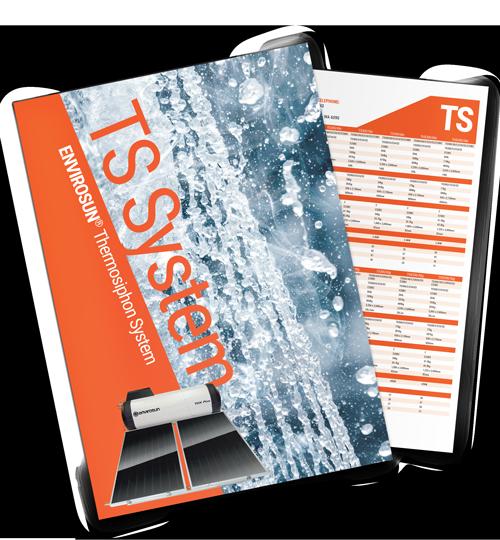 Envirosun solar water heater brochure TS Plus