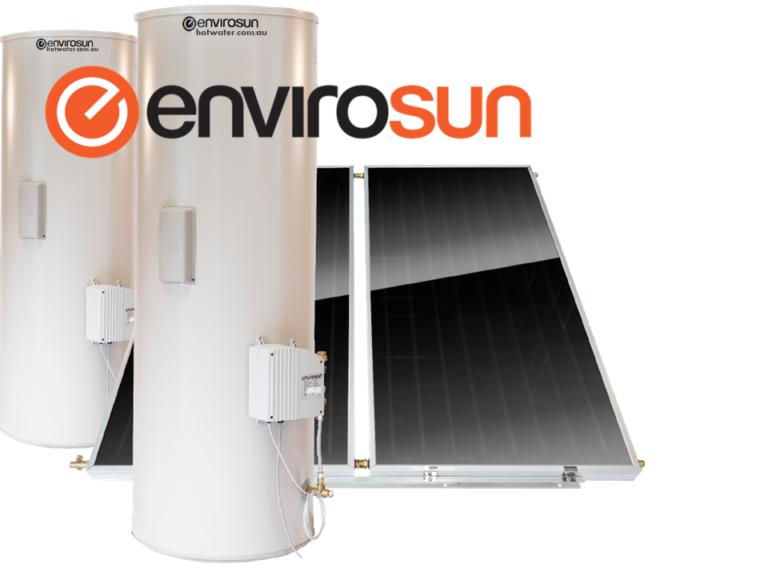 Envirosun split solar hot water systems