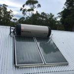 Planet home Gold Coast ENvirosun solar hot water installation