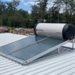 Envirosun solar hot water plonk for the Gold Coast Roonsleigh builders