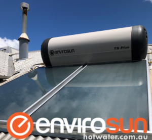 Solahart hot water systems replaced by Envirosun solar hot water heaters